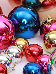 "cheap -12PCS/SET 3CM/1.2"" Mixed Colors Christmas Tree Decorations Snow Ball Party Festival Xmas Ornaments Supply"