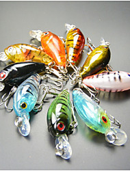cheap -9 pcs Hard Bait Fishing Lures Crank Hard Plastic Sea Fishing Trolling & Boat Fishing General Fishing Lure Fishing