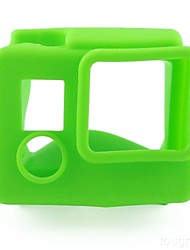 Smooth Frame Estuche de Protección Conveniente por Cámara acción Gopro 4 Gopro 4 Silver Gopro 4 Black Gopro 3+ Silicona