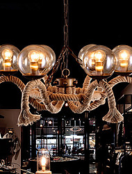 cheap -Chandeliers Mini Style Tiffany / Vintage Living Room / Dining Room / Kitchen / Study Room/Office / Game Room Metal