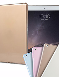 cheap -Cooltra Thin Soft TPU Silicone Clear Case Cover for iPad Air 2(Variety of Color)