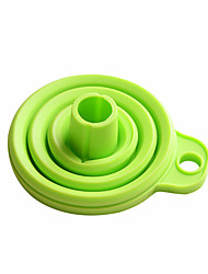 Fold The Silicone Funnel High Quality Kitchen Gadgets Use Everyday (Random Color)