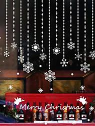 Remove Housing Decorative Window Wall Stick Beautiful Christmas Snowflake Pendant