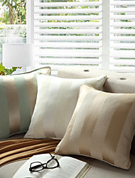 Jacquard Yarn Dyed Stripe Pillow With Insert