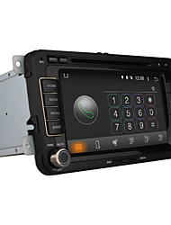 abordables -7 pulgada 2 Din Android 4.4 En tablero reproductor de DVD Bluetooth Integrado / GPS / iPod para Volkswagen Apoyo / RDS / Interface 3D
