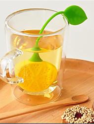 Недорогие -силиконовый пьющий чайник диффузор травяной лист лимонный чай фильтр ложка
