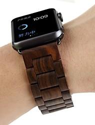 Недорогие -Ремешок для часов для Apple Watch Series 4/3/2/1 Apple Бабочка Пряжка Дерево Повязка на запястье
