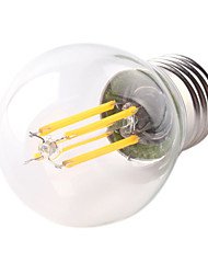 cheap -1pc 4W E26/E27 LED Filament Bulbs G45 4 High Power LED 360lm Warm White Cold White Decorative AC220-240V