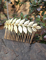 cheap -Alloy Hair Combs Headwear with Floral 1pc Wedding Special Occasion Headpiece