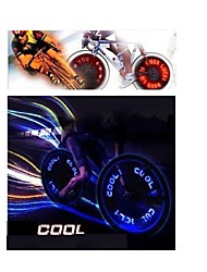 cheap -Wheel Lights LED - Cycling Color-Changing AG10 90 Lumens Battery Cycling/Bike Driving Motocycle