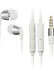 JBM hohen Stereo-Headset in Ohr Metallkopfhörer-freihändiger Kopfhörer mit mic 3.5mm Ohrhörer für Spieler iphone samsung