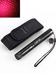 preiswerte -2in1 303 5mW 650nm rote wasserdichte High-Power Laser-Pointer einstellbare Holster