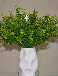 Artificial Flowers Silk Flower Grass Green Plant Millet Flower 7-inch Aquarium Artificial Decorative Plastic Aq