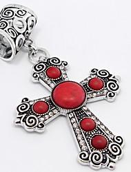 Недорогие -год сбора винограда способа анти-ailver модный Алмазный крест отложения солей шарф пряжки или кулон