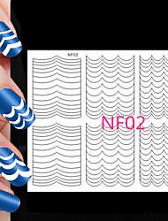 abordables -78pcs diferentes tamaños toma de herramienta profesional del arte patrón de uñas # 02