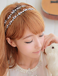 cheap -Women's Vintage Cute Party Work Casual Alloy Headband - Solid Colored