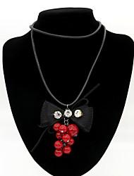 Недорогие -Жен. Ожерелья с подвесками - Мода Цвет экрана Ожерелье Назначение Повседневные