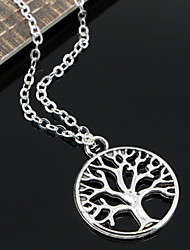 cheap -Women's Pendant Necklace Chain Necklace Vintage Necklace  -  Fashion Silver Necklace For Party Daily Casual