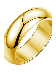 billige -mænds titanium ring non stone titanium klassisk feminin stil