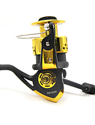 cheap -Fishing Reel Spinning Reels 5.2:1 Gear Ratio+5 Ball Bearings Exchangable Sea Fishing Bait Casting Ice Fishing Spinning Freshwater Fishing