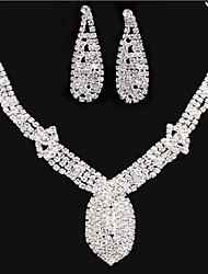 MPL Europe and the United States more than the new style diamond necklace earrings set