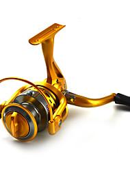 スピニングリール 5.5:1 10 ボールベアリング 交換可能 海釣り / フライフィッシング / ベイトキャスティング / 穴釣り / スピニング / ジギング / 川釣り / その他 / 鯉釣り / バス釣り / ルアー釣り / 一般的な釣り / 流し釣り/船釣り -