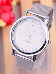 cheap -Women's Quartz Wrist Watch Casual Watch Alloy Band Minimalist Fashion Silver Gold