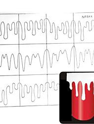 Недорогие -24pcs различные размеры профессиональная модель решений ногтей инструмент # 11