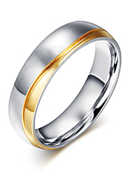 cheap -Z&X® Fashion  Personality Wedding Titanium Steel Ring Band Rings Party / Daily / Casual 1pc