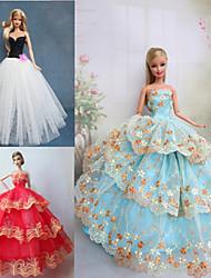 Stile Principessa Abiti Per Bambola Barbie Abiti Per Ragazza Bambola giocattolo