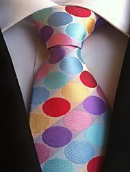 Men Wedding Cocktail Necktie At Work Muticolors Tie