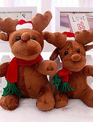 Papai Noel Milu cervos de pelúcia brinquedos cervos christmas boneca para o Natal