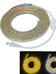 Jiawen Waterproof 65W 4000LM 300x5050 SMD LED Flexible Light Strip (5M-Length / 220V)