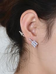 Žene Sitne naušnice Personalized Vintage Slatko Zabava Posao Ležerne prilike Moda Umjetno drago kamenje Legura Jewelry Jewelry Party
