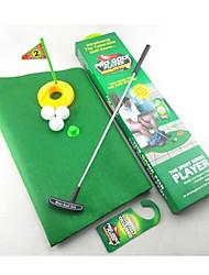 Недорогие -мелкий клюшки туалет игры в гольф мини-гольф установить туалет поле для гольфа (1set)