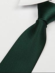 verde scuro adulto tempo libero twill cravatta jacquard freccia cravatta