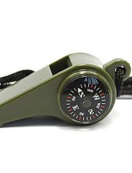 Survival Whistle / Compassos Campismo Assobio Plástico Verde