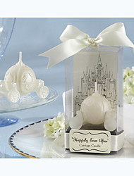 "cheap -""Happily Ever After"" Carriage Candle Bridal Shower Favors Wedding Favors"