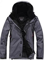 baratos -Homens Jaqueta Jaquetas em Velocino / Lã Jaquetas Softshell Jaqueta de Inverno BlusasEsqui Acampar e Caminhar Pesca Alpinismo Esportes