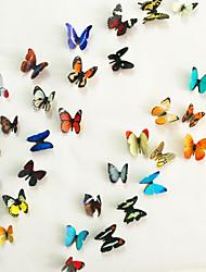 billige -Dyr 3D Vægklistermærker 3D mur klistermærker Dekorative Mur Klistermærker, Vinyl Hjem Dekoration Vægoverføringsbillede Væg