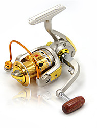 cheap -Spinning Reel 5.2:1 Gear Ratio+10 Ball Bearings Hand Orientation Exchangable Sea Fishing Ice Fishing Spinning Freshwater Fishing Other