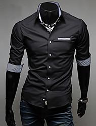 Veći konfekcijski brojevi Majica Muškarci Jednobojni