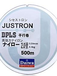 preiswerte -500M / 550 Yards Monofil 8LB 0.235 mm Für Seefischerei Fliegenfischen Köderwerfen Eisfischen Spinn Spring Fischen Fischen im Süßwasser