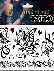 economico -1 Tatuaggi adesivi Serie gioielli Serie animali Serie fiori Serie totem Altro Non Toxic Fantasia Glitter Fascia lombare Waterproof Natale