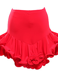 cheap -Latin Dance Tutus & Skirts Women's Performance Viscose Draping Skirt