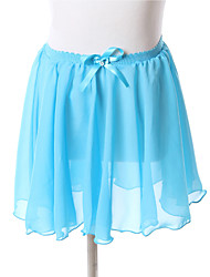 cheap -Ballet Bottoms Dresses&Skirts Skirt Women's Children's Training Performance Chiffon Draping Sleeveless Christmas Decorations Halloween