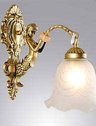 cheap -Wall Sconces Mini Style Traditional/Classic Metal E26/E27 High Quality