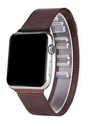 abordables -Bracelet de Montre  pour Apple Watch Series 3 / 2 / 1 Apple Bracelet Milanais Acier Inoxydable Sangle de Poignet