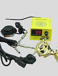 Professional Tattoo Kit 1 alloy machine liner & shader 1 Tattoo Machine Inks Not Included