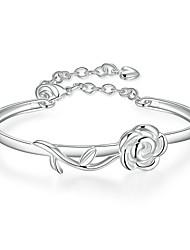 Žene Narukvice s privjeskom Nakit za gležanj Europska Kamen Glina Roses Cvijet Jewelry Party Dnevno Kauzalni Sport Nakit odjeće